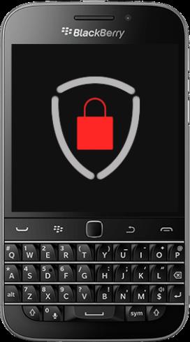 Smartphone BlackBerry Classic Criptografado ProtectPhone Plus