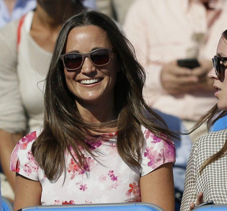 Foto da Pippa Middleton sorrindo