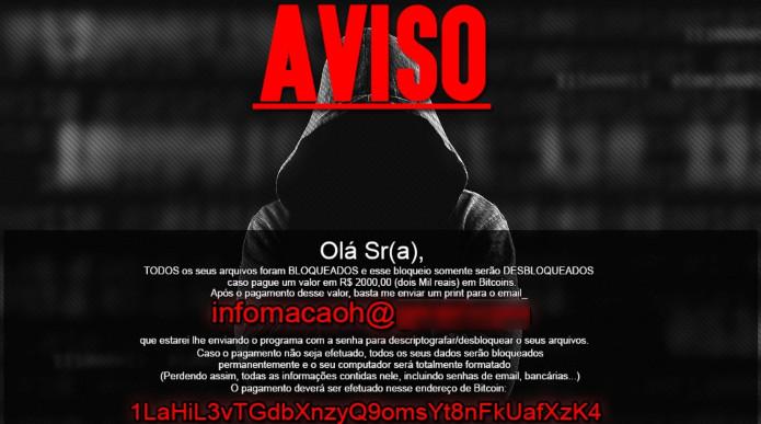 Aviso de um hacker