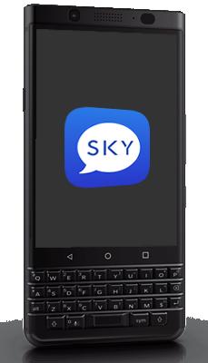 Aparelhos BlackBerry com o app SkyECC disponível no Brasil