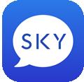 SkyECC Logo app