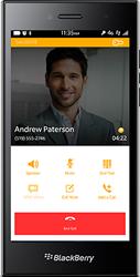 BlackBerry SecuSuite instalado no celular