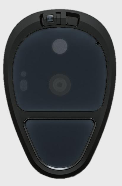 Leitor de digital e escudo seguro do Sirin Labs Solarin