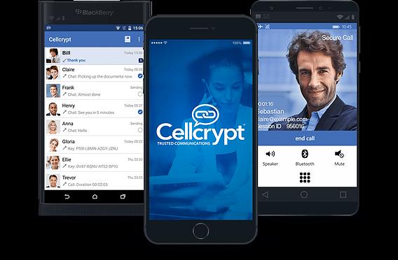 O Cellcrypt é multiplataforma funciona no Android, iOS, BlackBerry e Windows