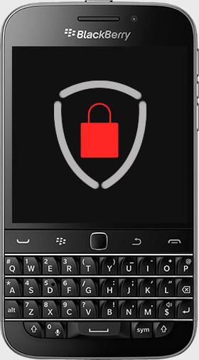 Aparelho BlackBerry Classic Criptografado