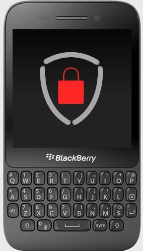 Aparelho BlackBerry Q5 Criptografado