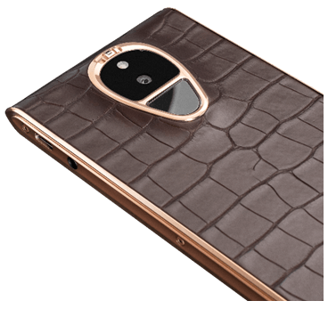 SOLARIN Dark Coffee Alligator Rose Gold.fw