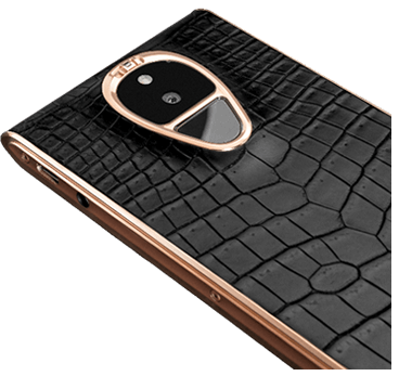 SOLARIN Onyx Black Crocodile Rose Gold.fw