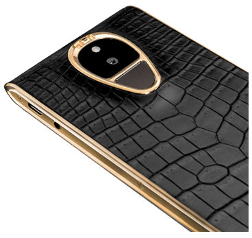SOLARIN Onyx Black Crocodile Yellow Gold.fw