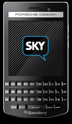 BlackBerry Porsche P9983 Criptografado com SkyECC