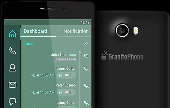 Imagem do aparelho GranitePhone