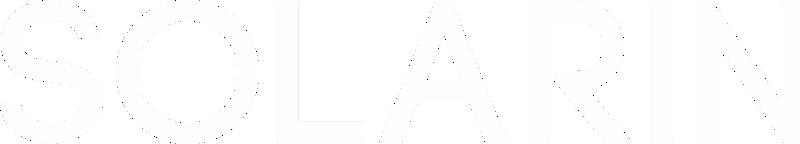 Logo do SirinLabs Solarin com letras brancas