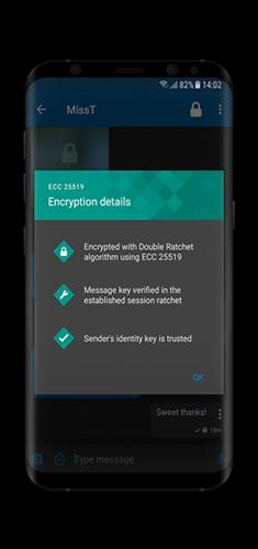 7 - Detalhes da Encriptação Chatmail