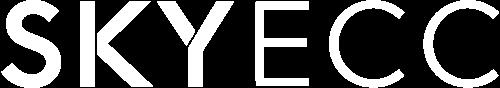 Logo SkyECC letra branca