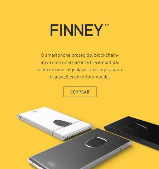 Foto com 3 smartphones Finney