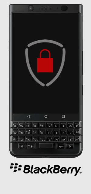 Aparelho BlackBerry Passport Silver Edition criptografado com SecuSUITE e UEM